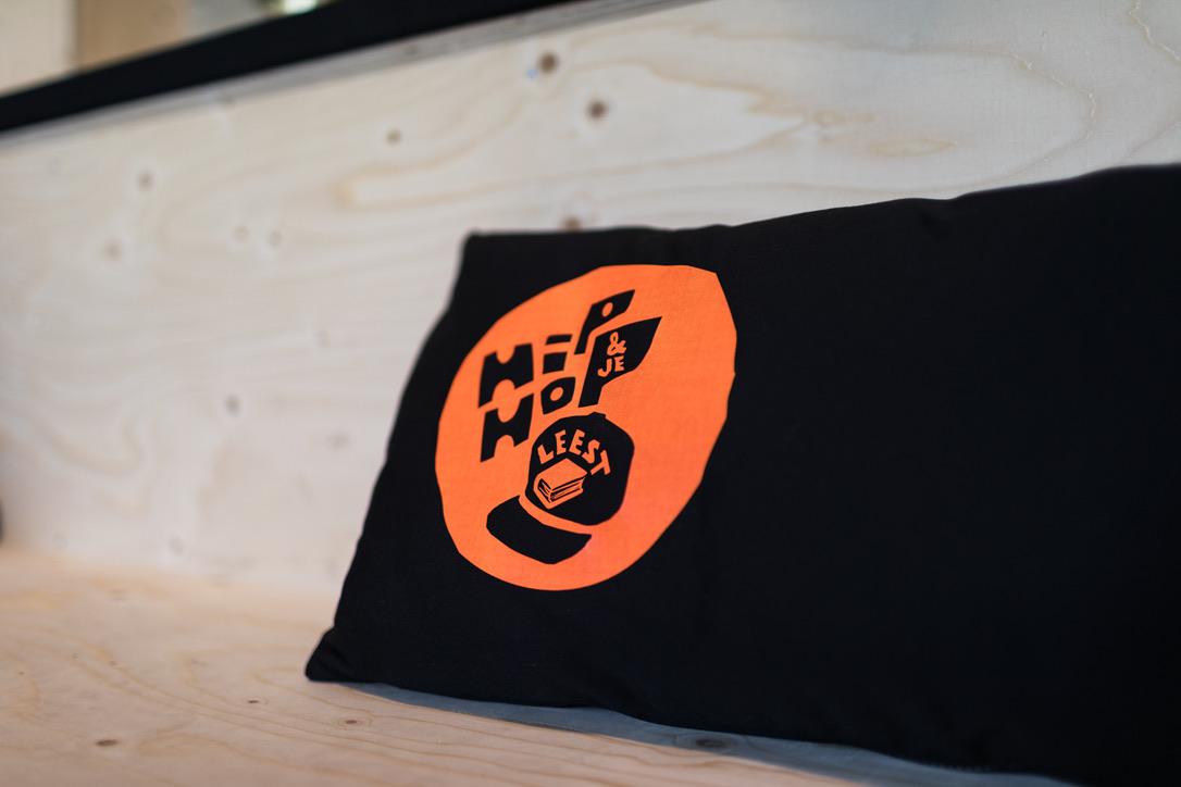 Merchandise: Hiphopenjeleest kussentjes